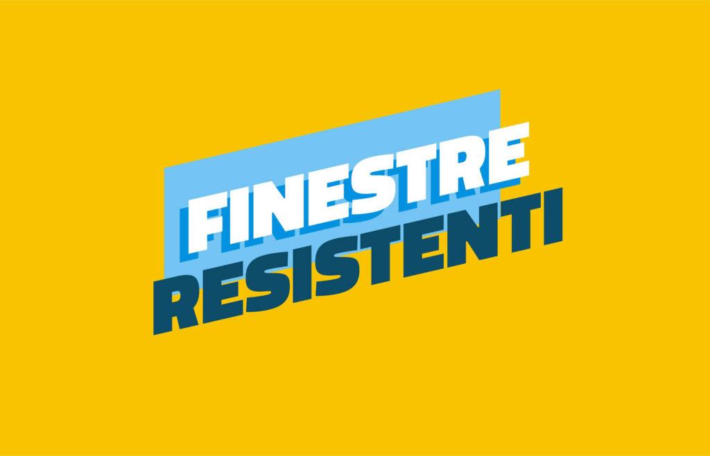Logo finestre resistenti, 25 aprile 2020