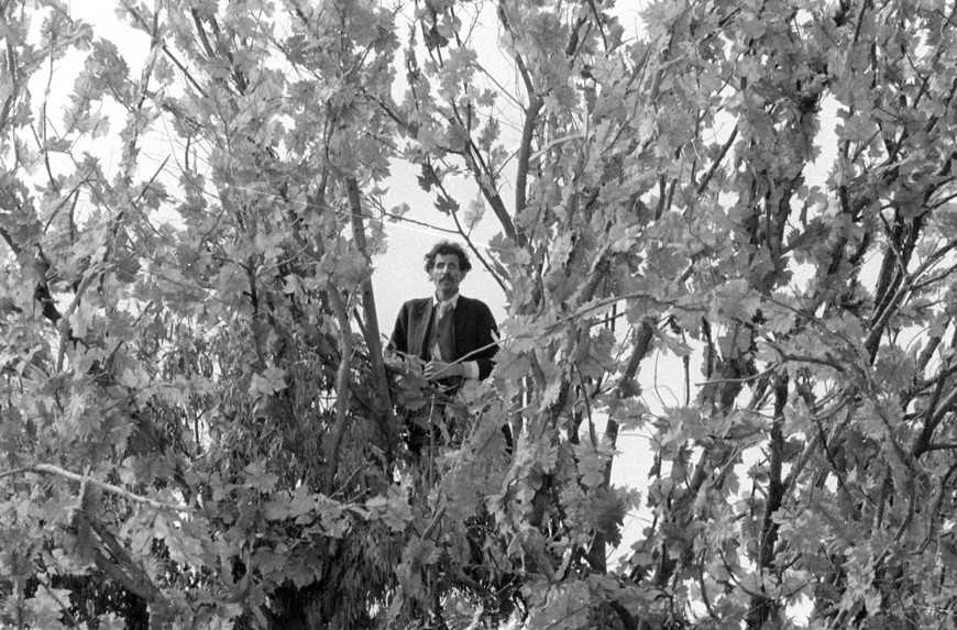 Ciccio Ingrassia in Amarcord, Fellini. Foto di Pierluigi