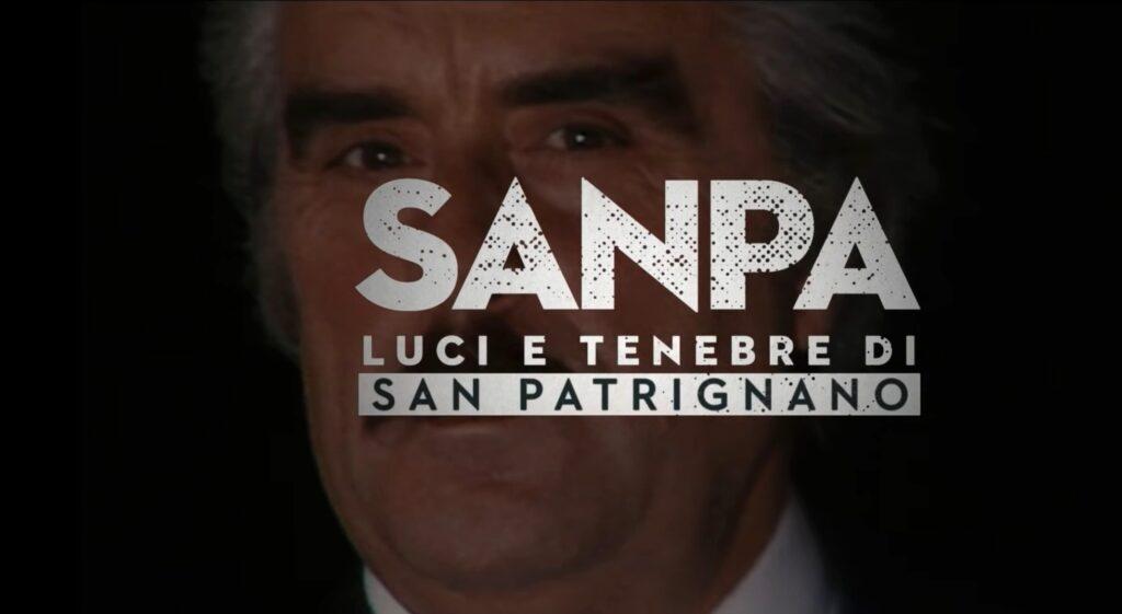 """I titoli della serie Netflix """"SanPa – Luci e tenebre di San Patrignano"""""""