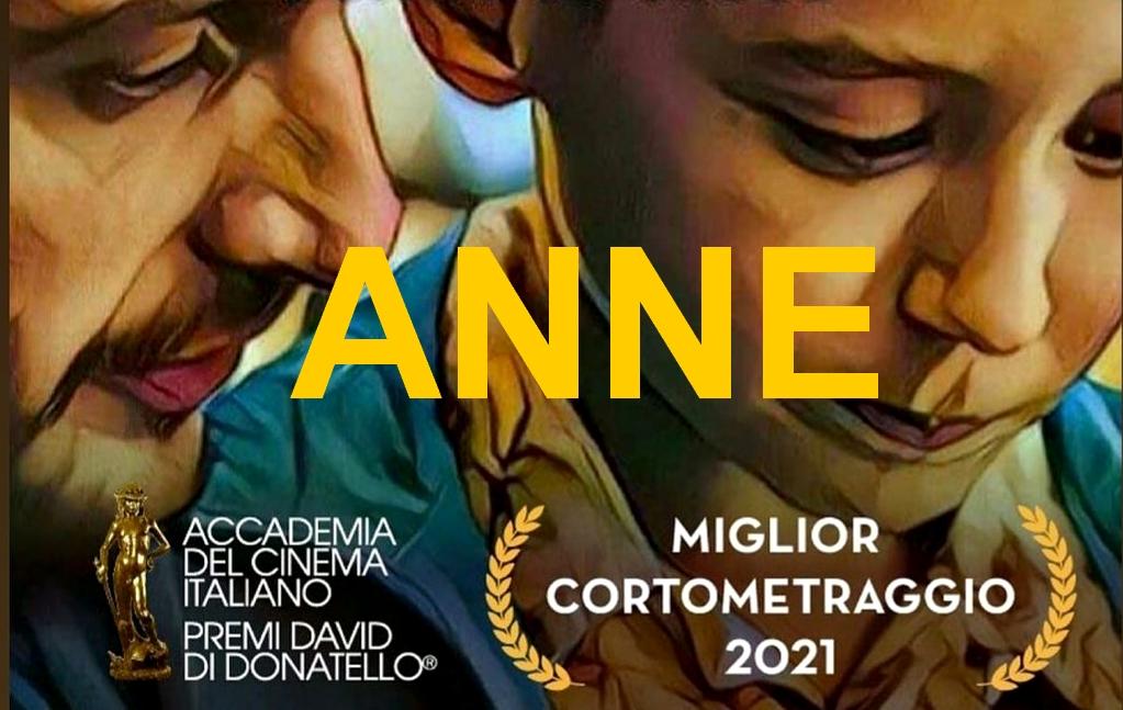 """""""Anne"""" di Domenico Croce e Stefano Malchiodi Premio David di Donatello 2021 Miglior Cortometaggio"""