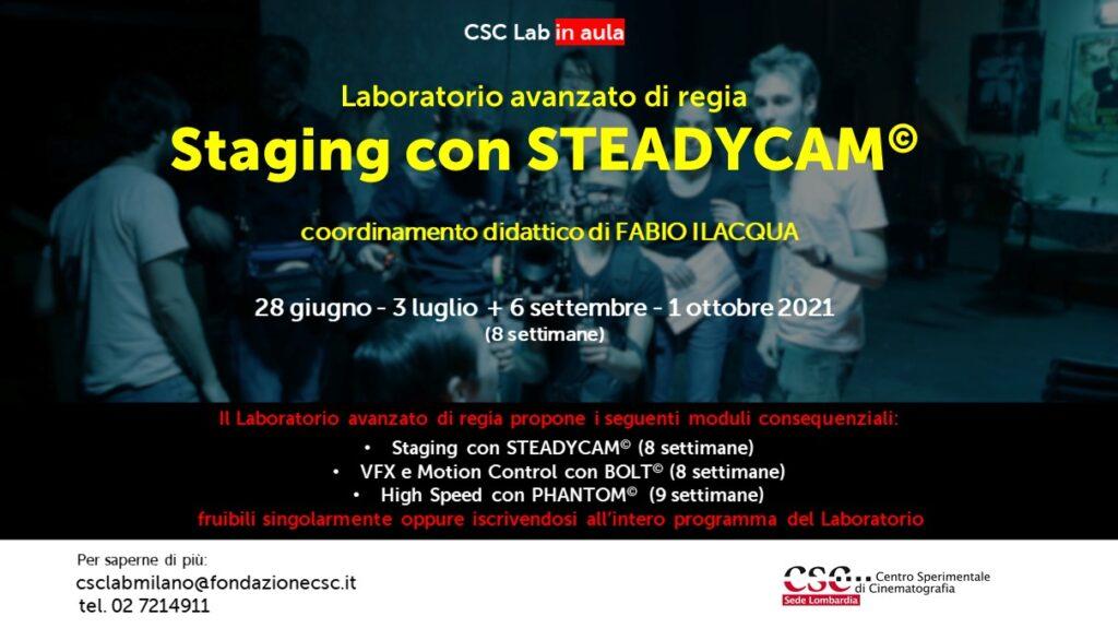 Laboratorio avanzato di regia, Sede Lombardia 2021